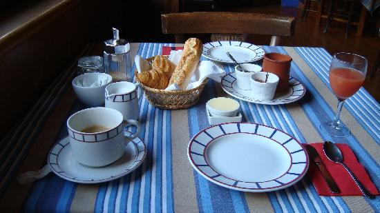 Hotel Maria Christina : A very French breakfast