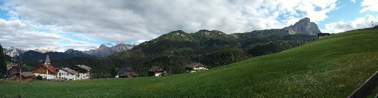 Hotel Fontanella: panorama dall'hotel