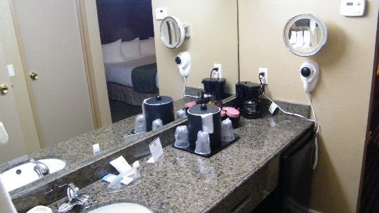 Best Western Royal Sun Inn & Suites: sink