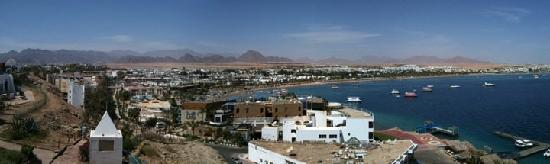 Coral Sea Holiday Village: A view from high point in Sharm
