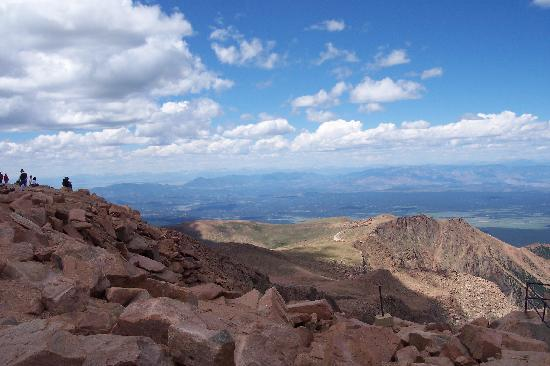Pikes Peak: Blue Skies