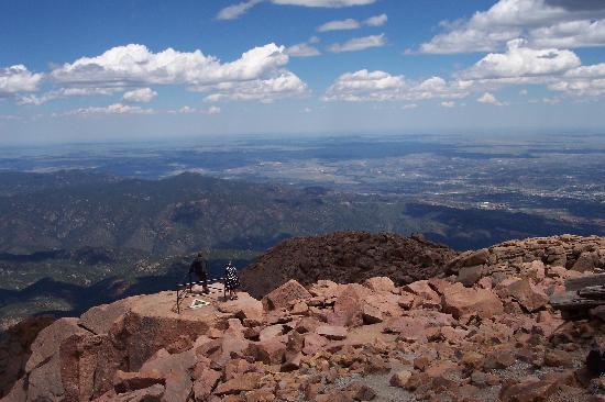 Pikes Peak: Scenic overlook