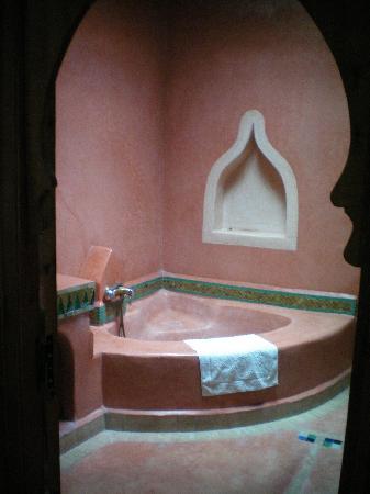 Riad Dar Tinmel: Toilette
