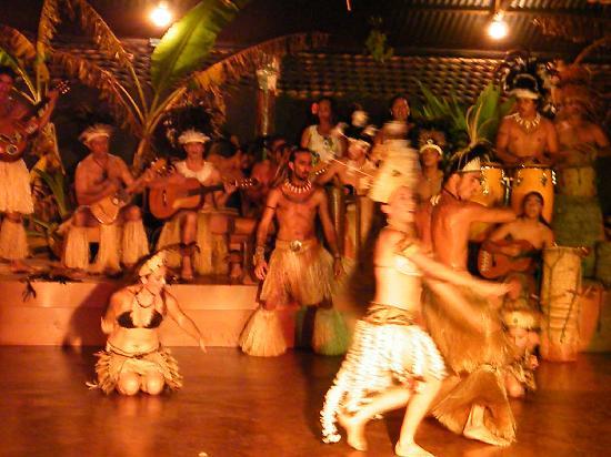 Cabanas Manatea: ESPECTACULO KARI KARI