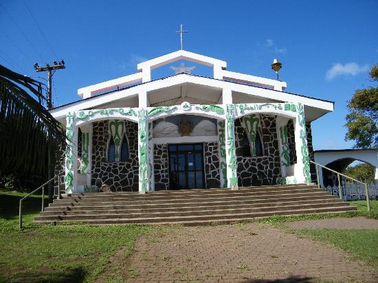 Cabanas Manatea: IGLESIA