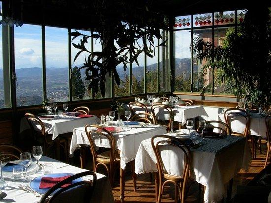 Brunate, Italie: sala ristorante
