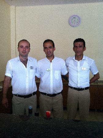 Hotel Greenland: our 3 favourite barmen can,umhet & akin
