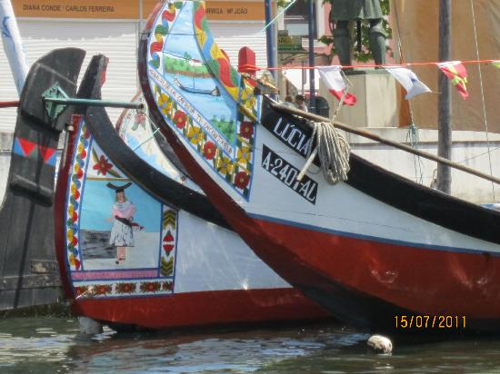 Hotel Moliceiro: le imbarcazioni della laguna