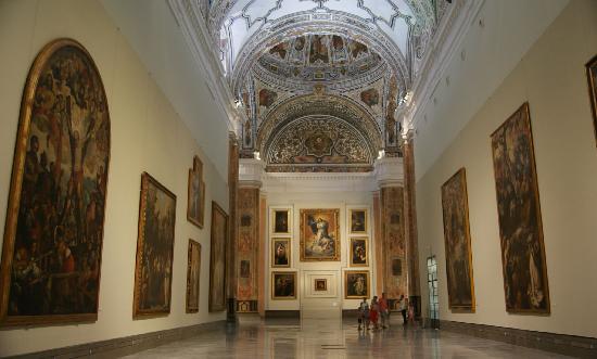 Museo de Bellas Artes de Sevilla: Sala V del Museo. Antigua iglesia del convento.