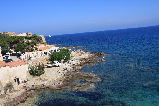 Hotel de la Plage Santa Vittoria: View form the room