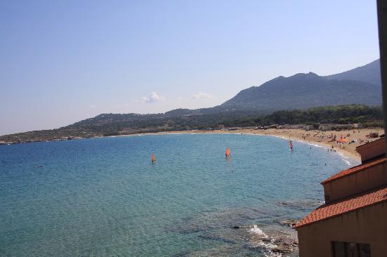 Hotel de la Plage Santa Vittoria: View from the room