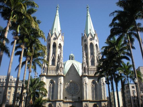 Catedral da Se de Sao Paulo: Catedral from the front