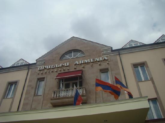 Armenia Hotel: Exterior