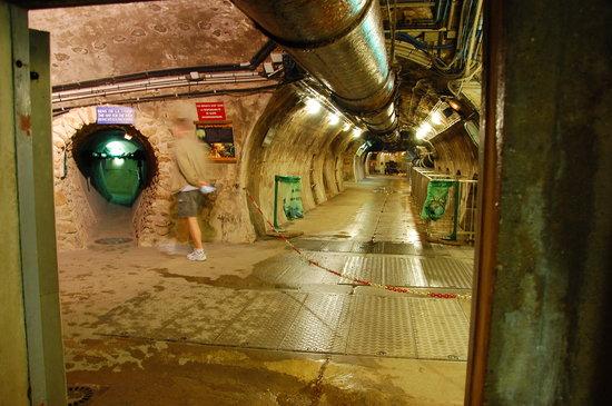 Musee des Egouts de Paris: Main Tunnel