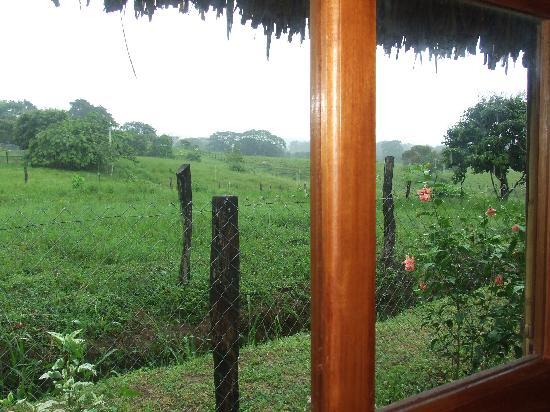 Las Lajas, Panama: View from one room of La Pepita