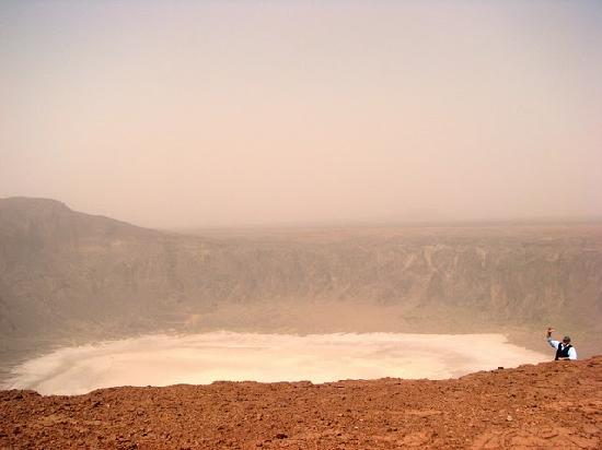 Al Wahbah crater : Wabhah Crater and me