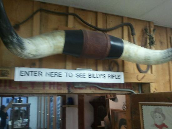 Billy the Kid Museum: Inside Museum Billy the Kid