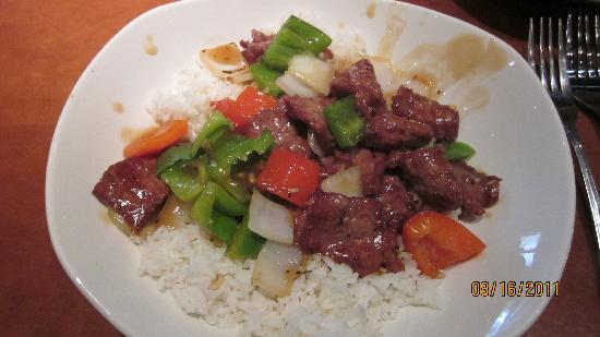 P.F. Chang's: Pepper Steak