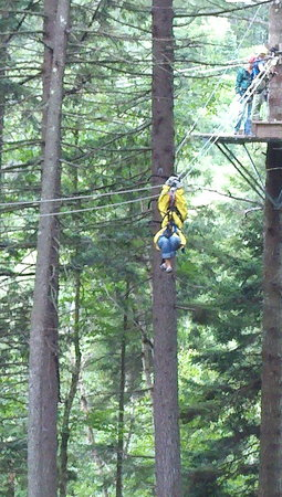 Bretton Woods Canopy Tour: Wheeee!