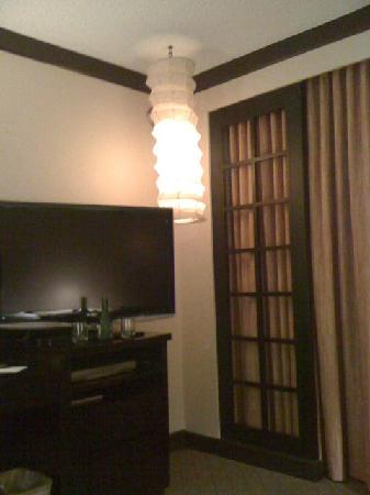 Miyako Hotel Los Angeles: A corner of the room