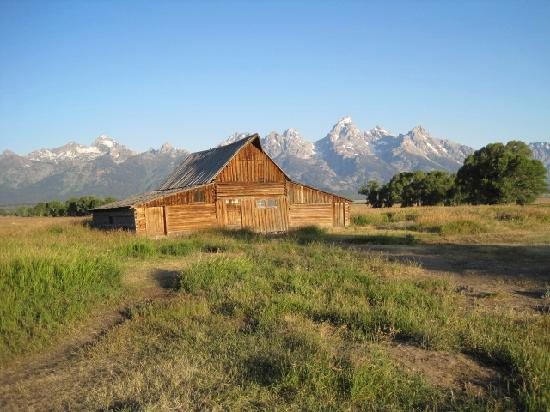 Jackson Hole Eco Tour Adventures: Famous barn often photographed