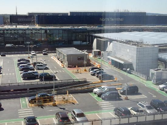 Sofitel London Gatwick: View of North Terminal from my room window