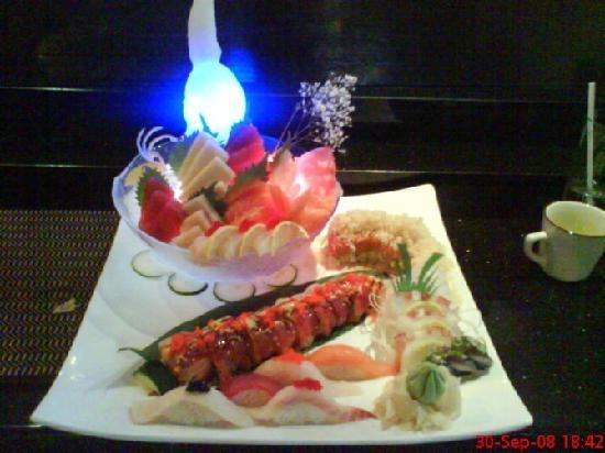 Mizu Japanese Steak House: sushi&sashimi