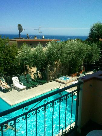 Hotel Ulivo : Aussicht vom Zimmer