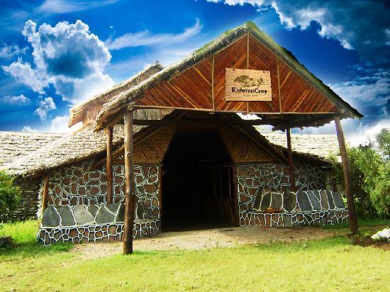 Kichakani Mara Camp: Reception Area