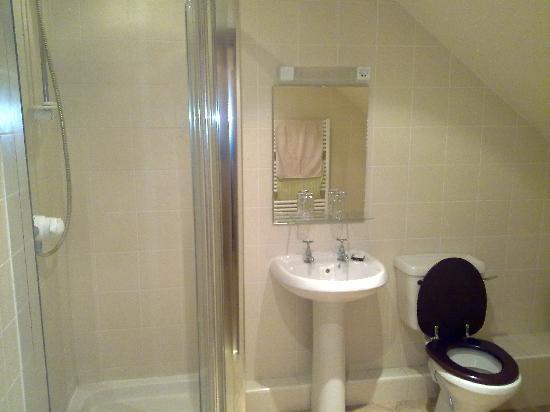 The Ship Inn: Large shower room