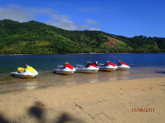Pacific Harbour, Fidschi: Our Jetskis