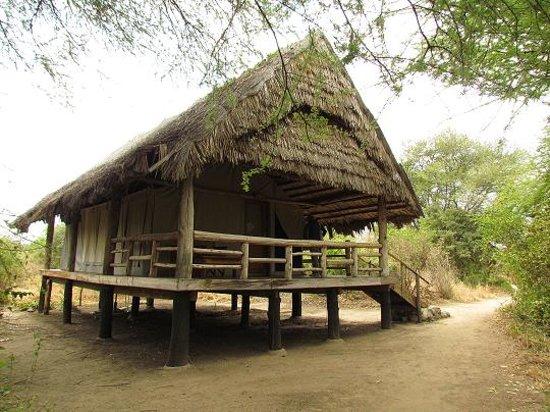Roika Tarangire Tented Lodge : La nostra tenda
