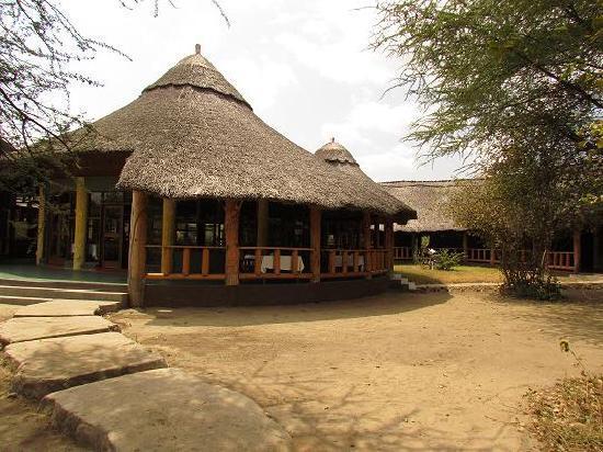 Roika Tarangire Tented Lodge: Il ristorante