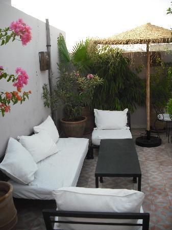 Riad des Etoiles : la terraza