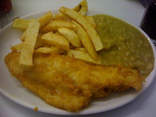 Sea Breeze Fish Bar: Fish, Chips and Peas