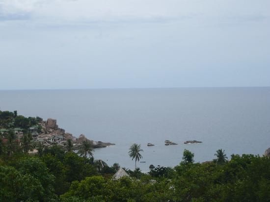 Tanote Villa Hill: vue du restaurant