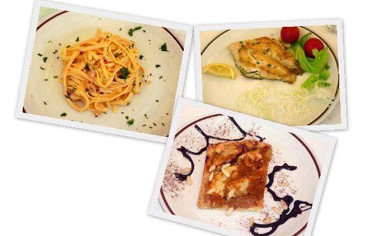 Hotel Ginevra: proposte della cucina