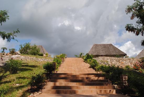 Dream of Zanzibar: stairs to the rooms