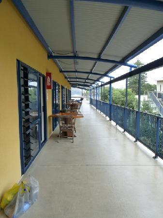 Saltwater Lodge : The deck at the 2nd floor