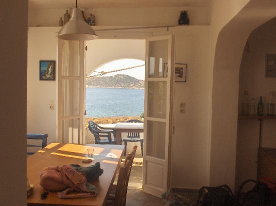 Agios Pavlos Studios: View from the house we rented