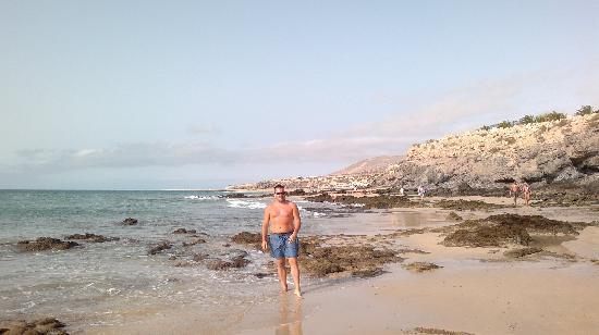 Melia Fuerteventura: playa direccion costa calma