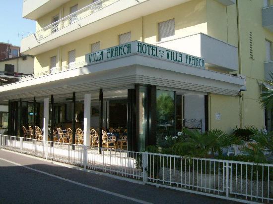 Hotel Franca: facciata