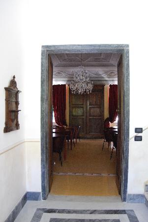 Dimora Antica: Il salone delle colazioni