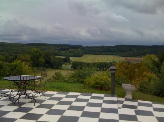 Le Vert Galant : vue depuis la terrasse