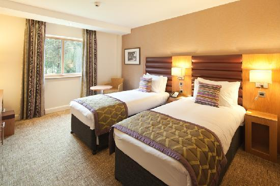 Drayton Manor Hotel: Twin Bedroom