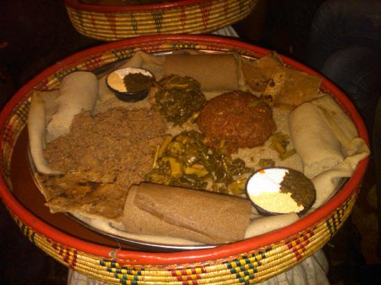 Yod Abyssinia Traditional Food: meal