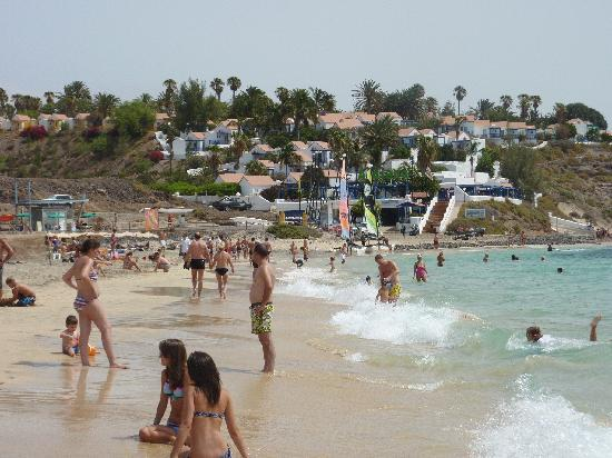 Playa de Jandia, Spanien: Plage et mer turquoise.