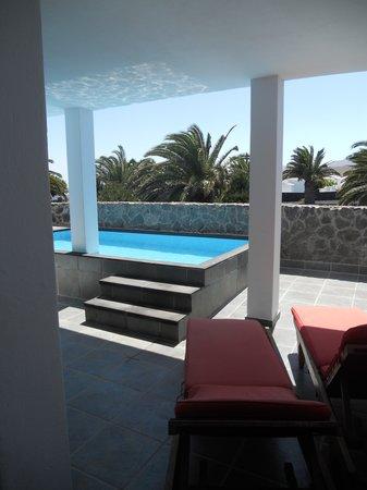 Villas del Mar: terasse