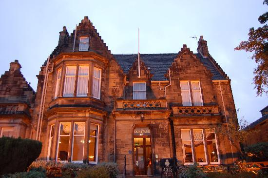 The Dunstane Hotel: Front View of the Hotel