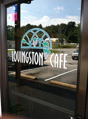 Lovingston Cafe: Front Door